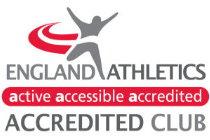 England Athletics accreditation logo