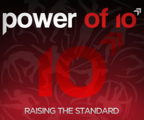 Power of 10 logo